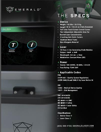 Emerald-Specs