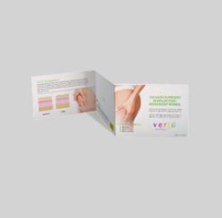 Verju Cellulite Tri-Fold Booklet