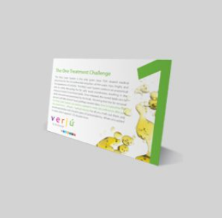 Verju One Treatment Challenge Card