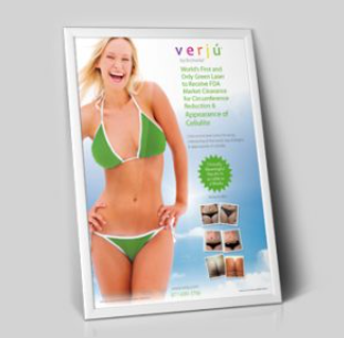 Verju Body Contouring and Cellulite Poster